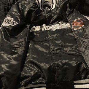 Los Angeles kings satin starter jacket